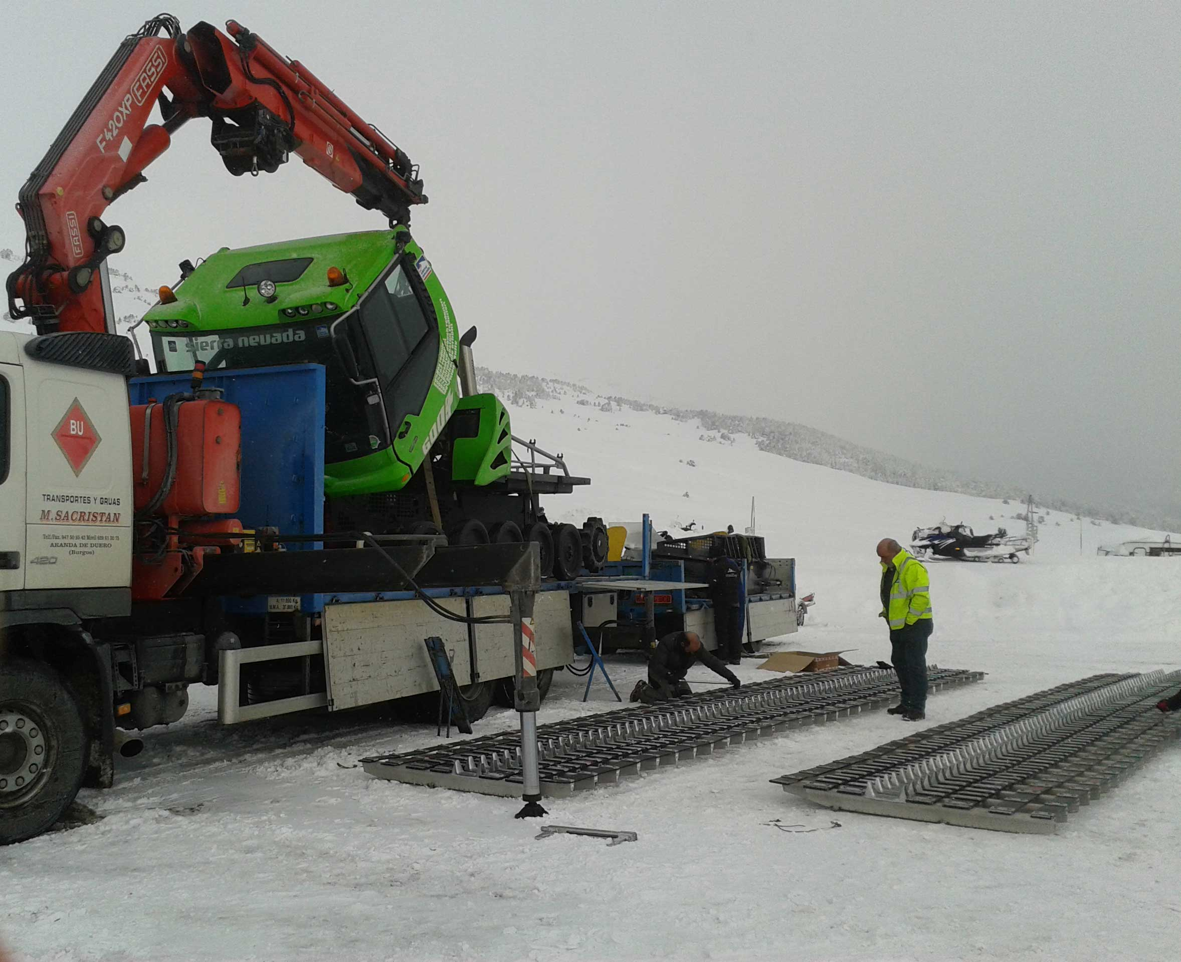 descarga maquina pisa nieves